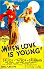 When Love Is Young (1937) Poster