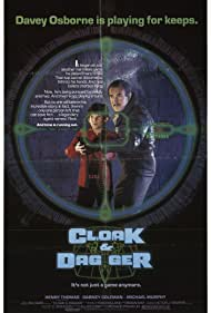 Dabney Coleman and Henry Thomas in Cloak & Dagger (1984)