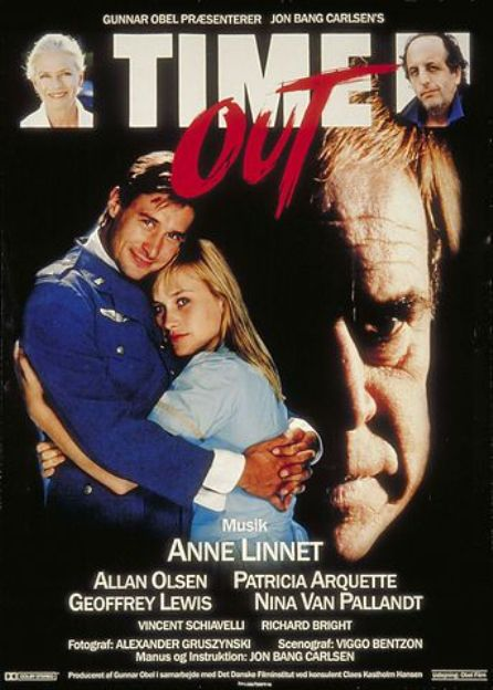 Patricia Arquette, Vincent Schiavelli, Geoffrey Lewis, Allan Olsen, and Nina van Pallandt in Time Out (1988)