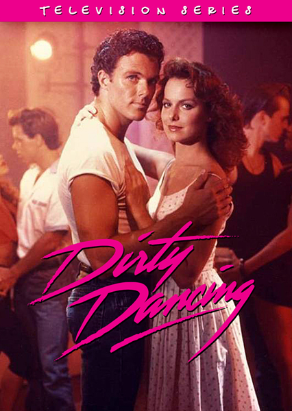 Melora Hardin and Patrick Cassidy in Dirty Dancing (1988)