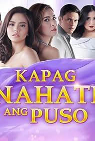 Sunshine Cruz, Zoren Legaspi, Bing Loyzaga, Bea Binene, Benjamin Alves, and David Licauco in Kapag nahati ang puso (2018)