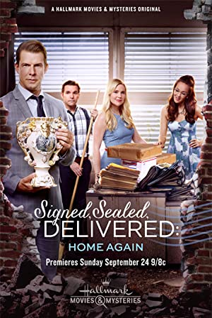 Movie Signed, Sealed, Delivered: Home Again (2017)