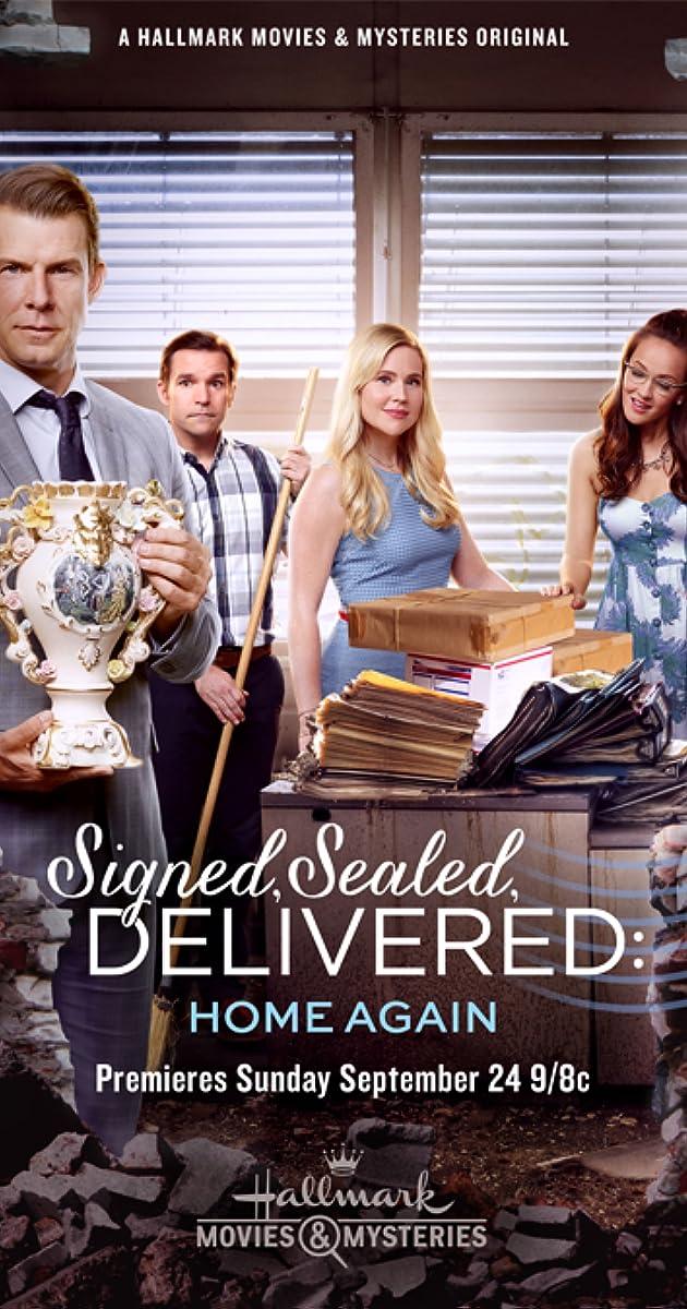 Signed Sealed Delivered Home Again Tv Movie 2017 Imdb