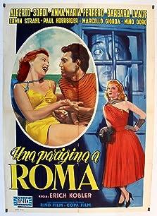 Una parigina a Roma (1954)