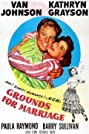 Grounds for Marriage (1951) Poster