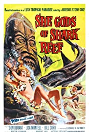 She Gods of Shark Reef Poster