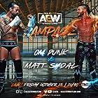 C.M. Punk and Matthew Korklan in All Elite Wrestling: Rampage (2021)