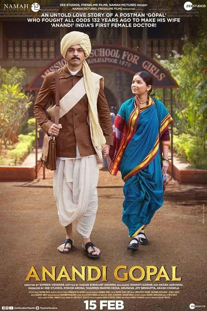 Anandi Gopal (2019) Marathi 720p WEB-HD –