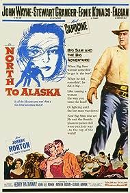 John Wayne, Capucine, Stewart Granger, and Fabian in North to Alaska (1960)