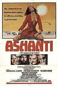 William Holden, Michael Caine, Rex Harrison, Omar Sharif, Peter Ustinov, Kabir Bedi, and Beverly Johnson in Ashanti (1979)