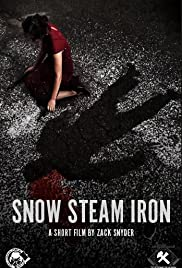 Snow Steam Iron Poster