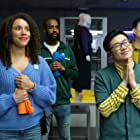 Jessica B. Hill and Kenny Wong in Slaxx (2020)