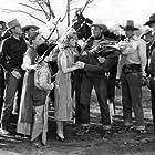 Jean Carmen, Horace B. Carpenter, Burr Caruth, Allen Connor, Ray Corrigan, Jane Keckley, Sammy McKim, and Max Terhune in Gunsmoke Ranch (1937)