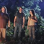Matthew Fox, Jorge Garcia, Josh Holloway, and Evangeline Lilly in Lost (2004)