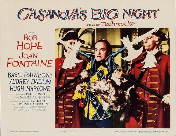 Bob Hope and Joe Gray in Casanova's Big Night (1954)
