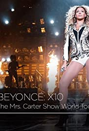 Beyoncé X10 The Mrs. Carter Show World Tour Poster