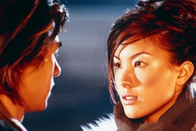 Stephen Fung and Grace Yip in Dak ging san yan lui (1999)