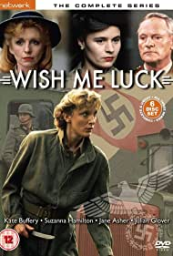 Julian Glover, Jane Asher, Kate Buffery, and Suzanna Hamilton in Wish Me Luck (1987)