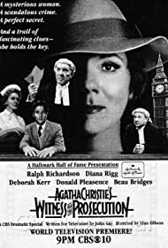 Witness for the Prosecution (1982) Poster - Movie Forum, Cast, Reviews