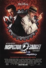 Matthew Broderick and Rupert Everett in Inspector Gadget (1999)