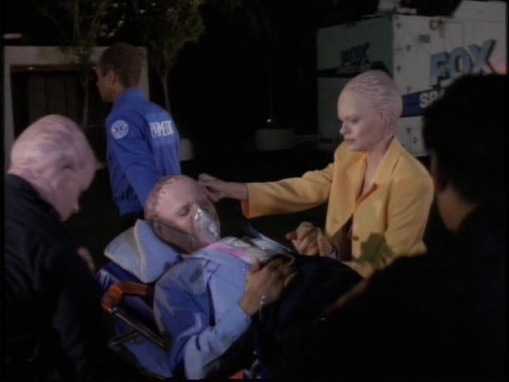 Eric Pierpoint, Michele Scarabelli, and Sean Six in Alien Nation: The Udara Legacy (1997)