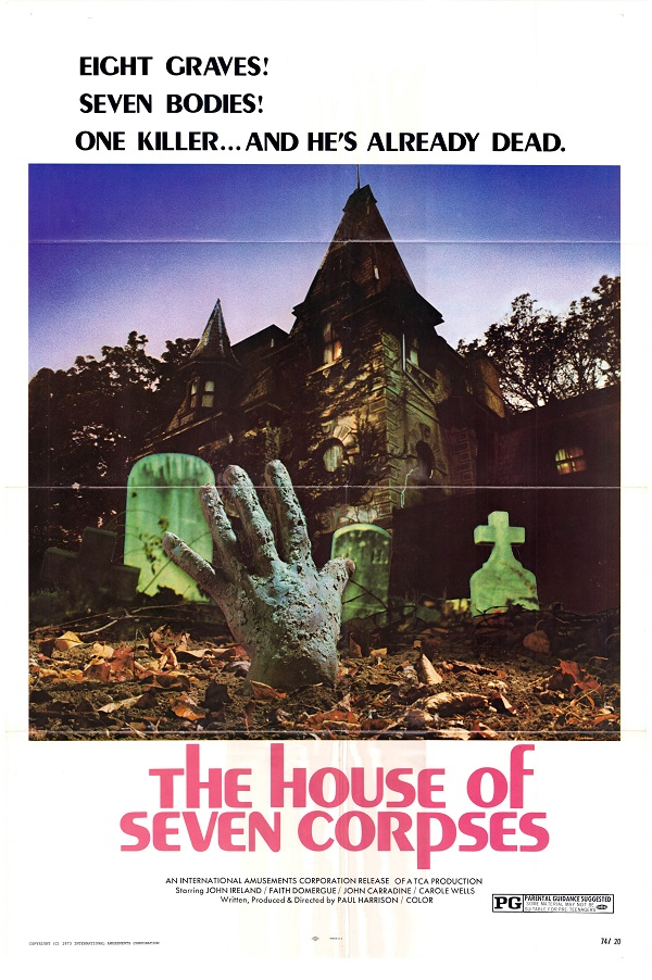The House Of Seven Corpses 1974 Imdb
