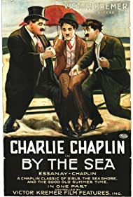 Charles Chaplin, Billy Armstrong, and Bud Jamison in By the Sea (1915)