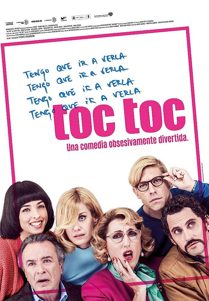 Oscar Martínez, Rossy de Palma, Paco León, Alexandra Jiménez, Adrián Lastra, and Nuria Herrero in Toc Toc (2017)