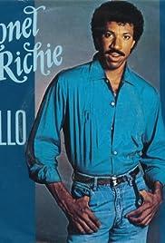 Lionel Richie: Hello Poster