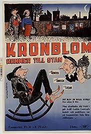 Kronblom kommer till stan Poster