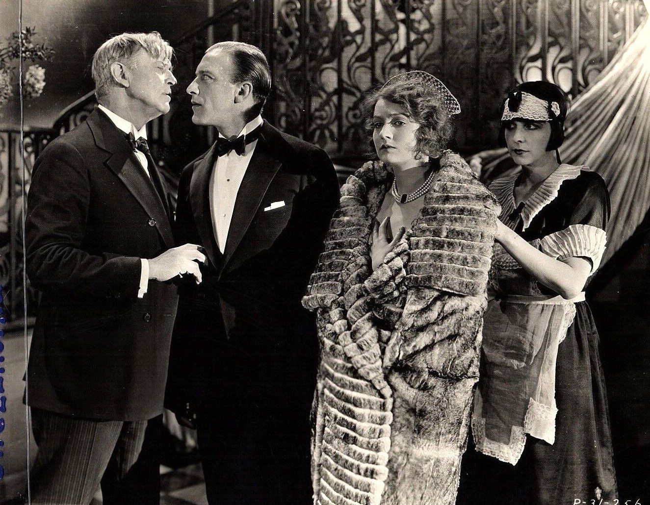Lloyd Hughes, Doris Kenyon, and Frank Mayo in If I Marry Again (1925)
