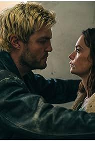 Tom Burke and Ruth Wilson in True Things (2021)