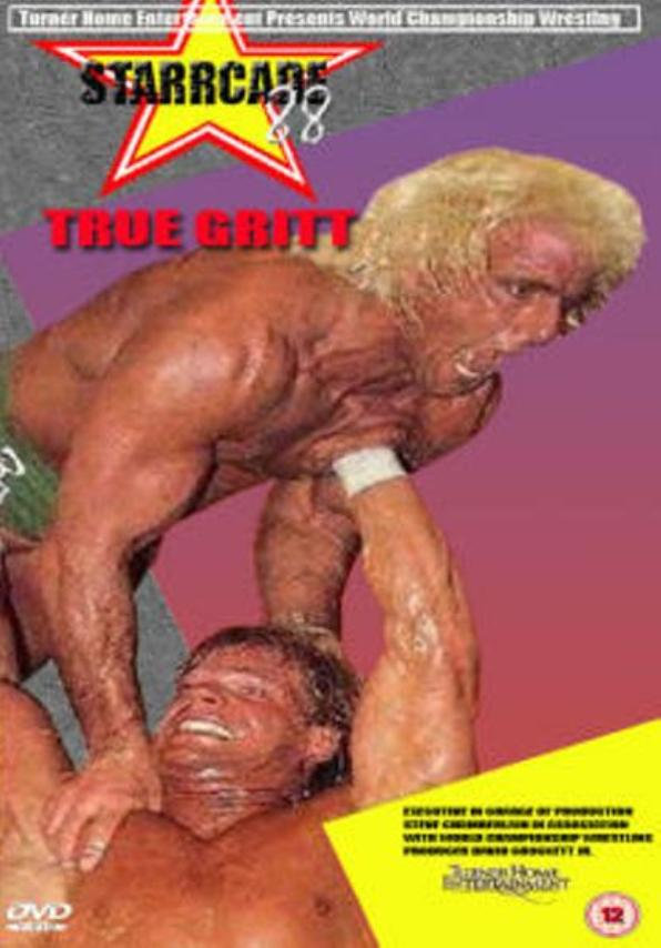 Ric Flair and Larry Pfohl in Starrcade (1988)