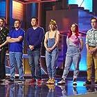 Zack Macasaet, Wayne Macasaet, Michelle Brooks, Natalie Cleveland, Mark Erickson, Steven Erickson, Caleb Schilling, and Jacob Schilling in Cliffhanger! (2021)