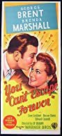 You Can't Escape Forever (1942) Poster