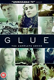 Yasmin Paige, Kierston Wareing, Charlotte Spencer, Jordan Stephens, Callum Turner, Tommy McDonnell, and Billy Howle in Glue (2014)