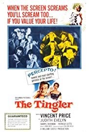 The Tingler (1959) Poster - Movie Forum, Cast, Reviews