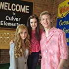 Kat, Kenton and Me on the set of Little Savages.