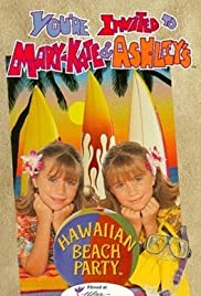 You're Invited to Mary-Kate & Ashley's Hawaiian Beach Party Poster