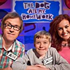 Callum Read, Alex Riley, and Ashleigh & Pudsey in The Dog Ate My Homework (2014)