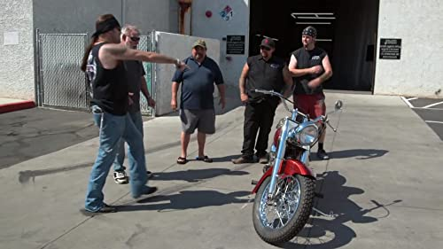 Counting Cars: Restored 1957 Harley Davidson Panhead