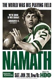 Namath (2012) Poster - Movie Forum, Cast, Reviews