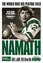 Namath(2012) Poster - Movie Forum, Cast, Reviews