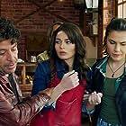 Selim Erdogan, Ayça Aysin Turan, and Serenay Aktas in Episode #1.1 (2017)