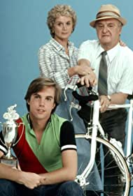 Shaun Cassidy, Barbara Barrie, and Vincent Gardenia in Breaking Away (1980)