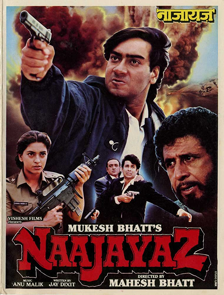 Naajayaz 1995 Hindi Movie AMZN WebRip 400mb 480p 1.3GB 720p 4GB 15GB 1080p