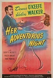 Her Adventurous Night Poster