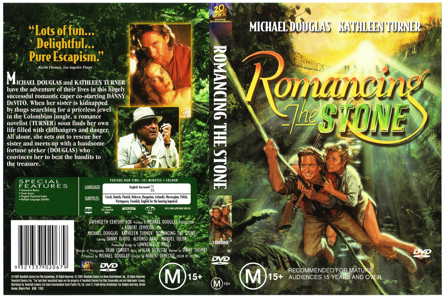 Romancing the Stone (1984) – Action, Adventure, Comedy