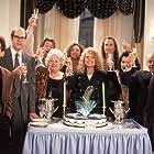 Dyan Cannon, Chris Penn, Shelley Winters, Jerry Stiller, Kimiko Gelman, Michael Harris, Barry Miller, and Stephen Tobolowsky in The Pickle (1993)