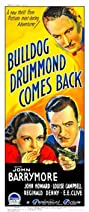 Bulldog Drummond Comes Back (1937) Poster